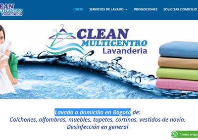 Clean Multicentro Lavanderia